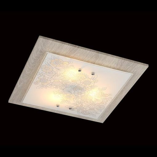 Потолочный светильник 40067/3 хром/светлое дерево