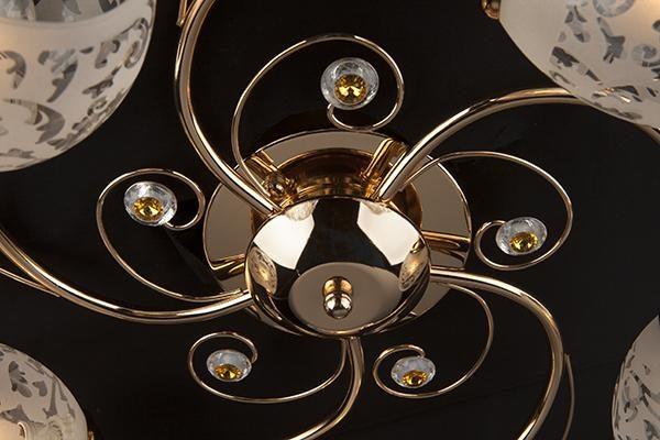 Потолочный светильник 9677/5 золото