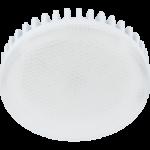 Ecola Light GX53 LED 11,5W Tablet 220V 6400K 27x75 матовое стекло (ребристый алюм. радиатор) 30000h