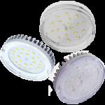 GX53 светодиодные прозрачные