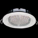 Ecola GX53 FT3225 светильник встраиваемый глубокий лёгкий белый 27x109