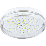 Ecola Light GX53 LED 8,0W Tablet 220V 2800K 27x75 прозрачное стекло 30000h