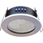 Ecola GX53 H9 защищенный IP65 светильник встраив. без рефлектора белый 98*55