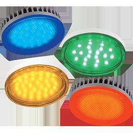 Цветные лампы GX53