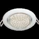 Ecola GX53 H4 светильник встраив. без рефл. white 38х106 - 2 pack