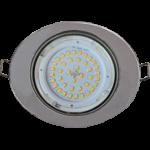 Ecola GX53 FT3238 светильник встр. без рефлектора Эллипс хром 41x126x106