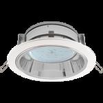 Встраиваемый потолочныйсветильник-спот Экола GX53 H2R.С рефлектором. Цвет - Белый.
