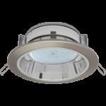 Встраиваемый потолочныйсветильник-спот Ecola GX53 H2R.C рефлектором. Сатин-Хром.