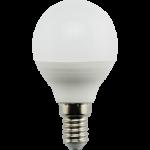 Ecola globe LED Premium 9,0W G45 220V E14 4000K шар (композит) 82x45