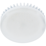 Лампа светодиодная Ecola GX53 LED Premium 10.0W Tablet 220V 2800K матовое стекло (ребристый алюм. радиатор) 27х75
