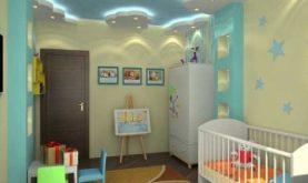 Натяжной потолок для комнаты мальчика